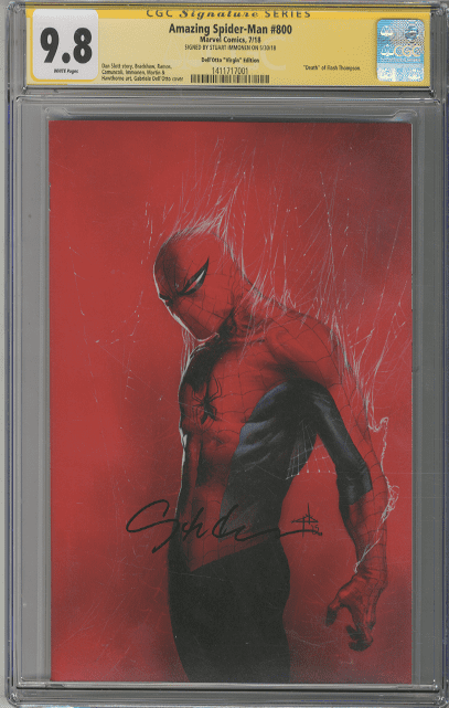AMAZING SPIDER-MAN 798 DELL OTTO VIRGIN CON VARIANT 3-PK 1st RED GOBLIN 1000 PT
